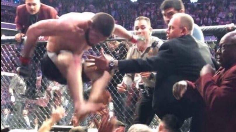 Dillon Danis, Khabib Nurmagomedov, UFC 229