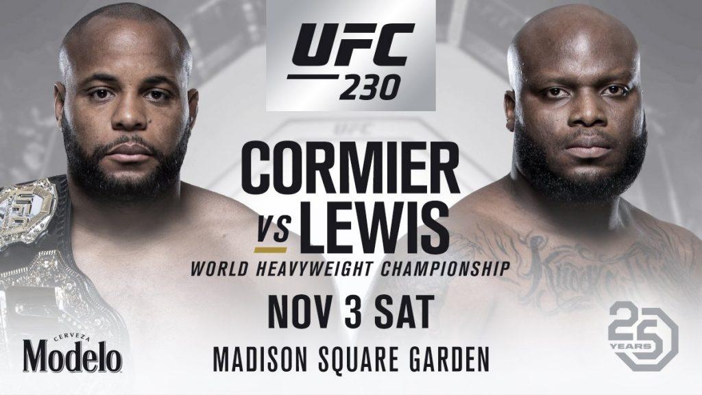 Daniel Cormier vs Derrick Lewis
