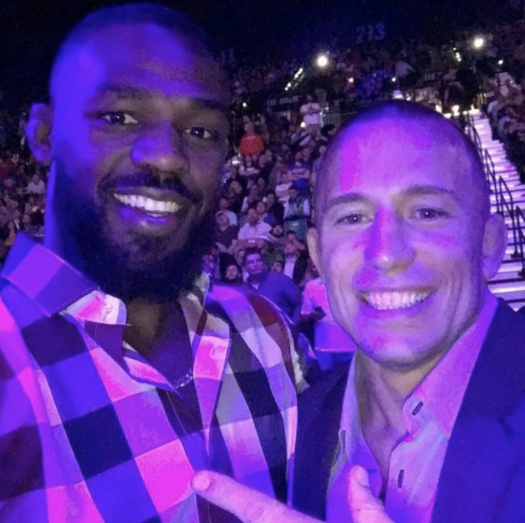 PED use, Jon Jones, Georges St-Pierre