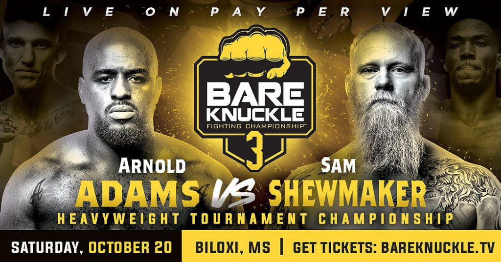 Bare Knuckle FC 3 results - A Heavyweight Champion Will Be Crowned