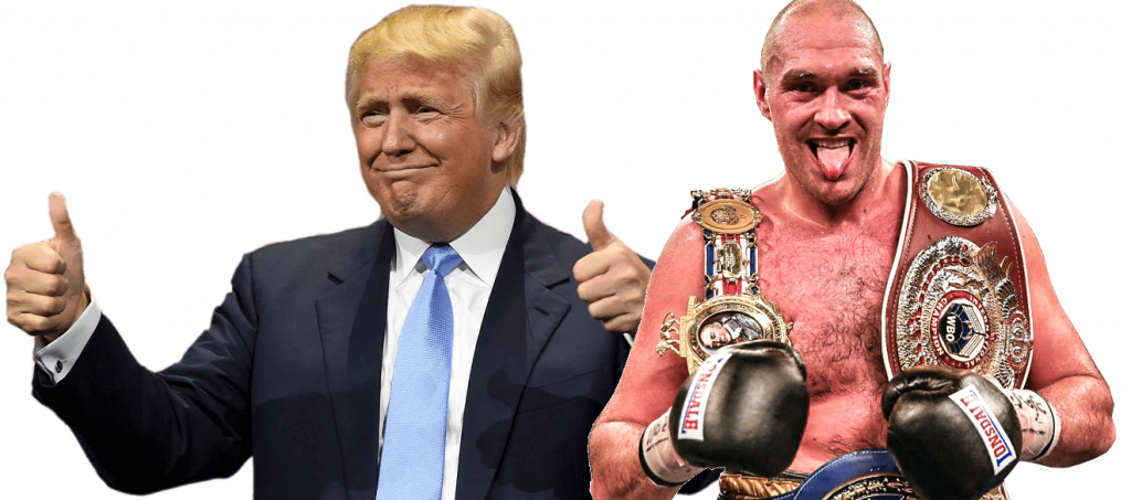 Tyson Fury invites US President Donald Trump to Wilder fight