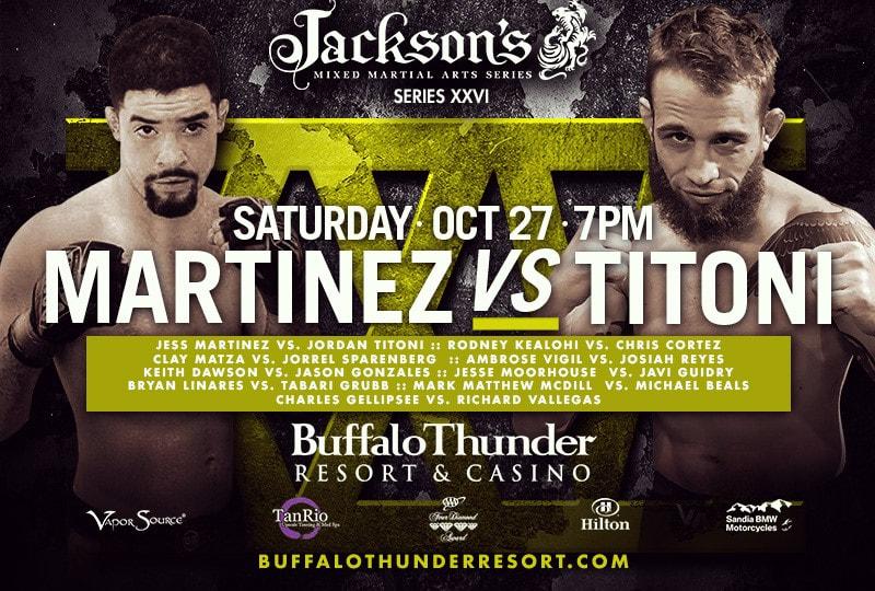 Jackson's MMA Series XXVI Results
