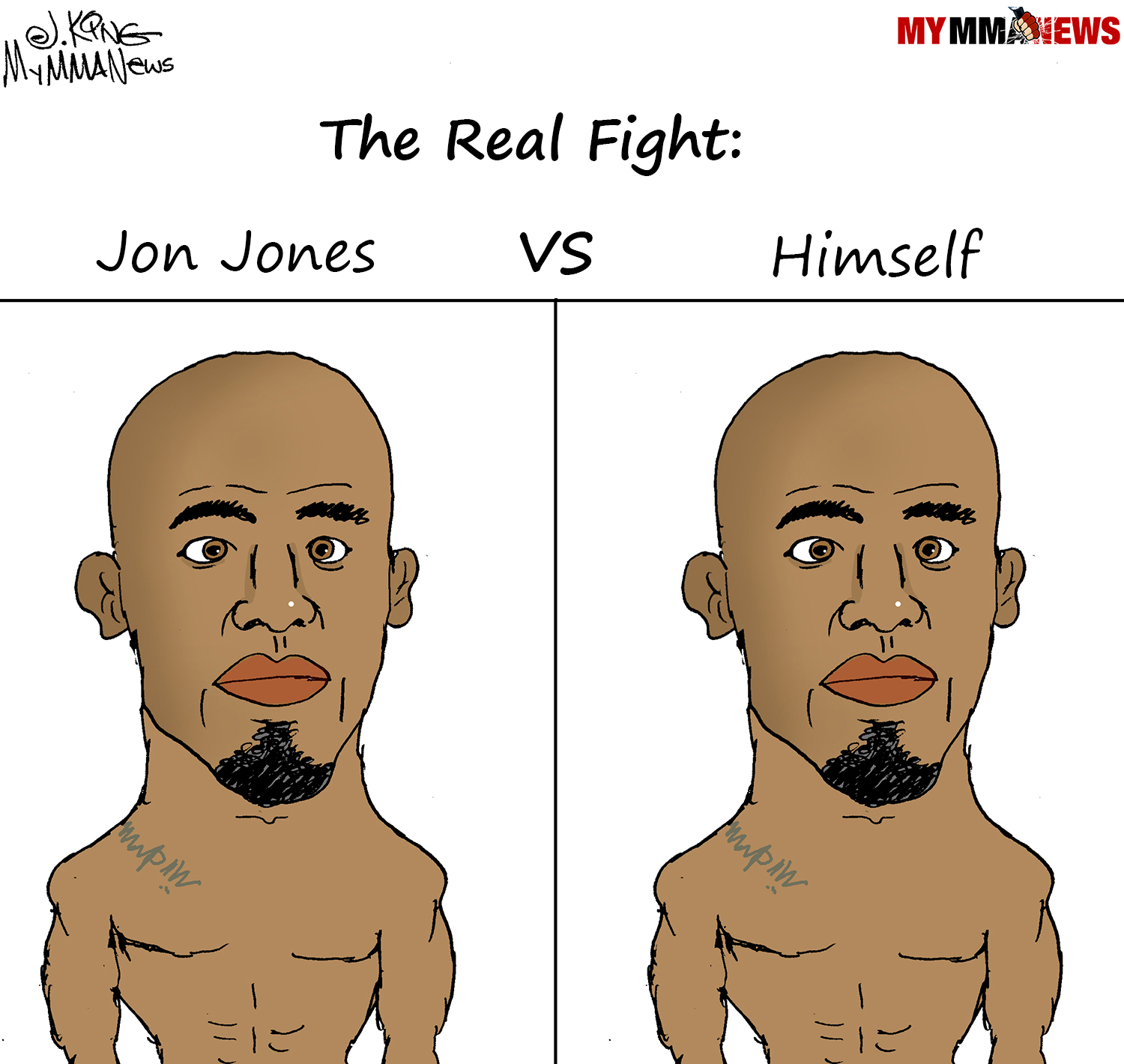 Jon Jones, toughest opponent