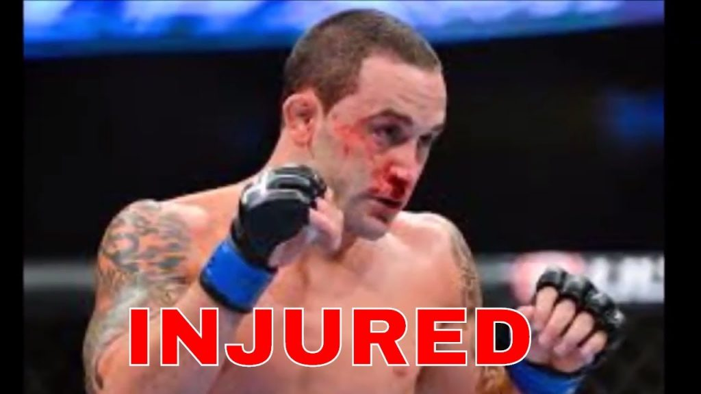 Frankie Edgar injured