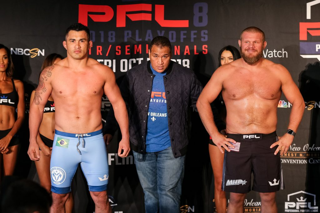 PFL 8 weigh-in results