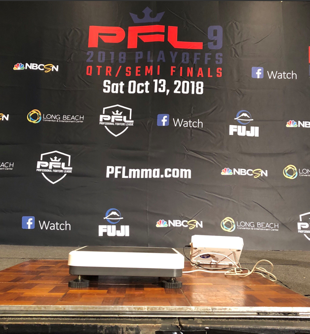 PFL 9 weigh-in results from Long Beach, California
