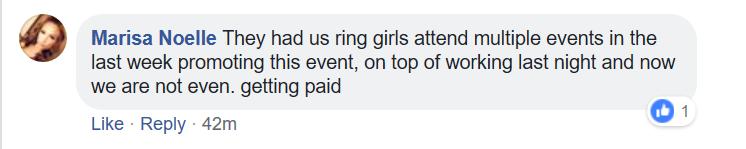 ring card girl, Diamond World Fights