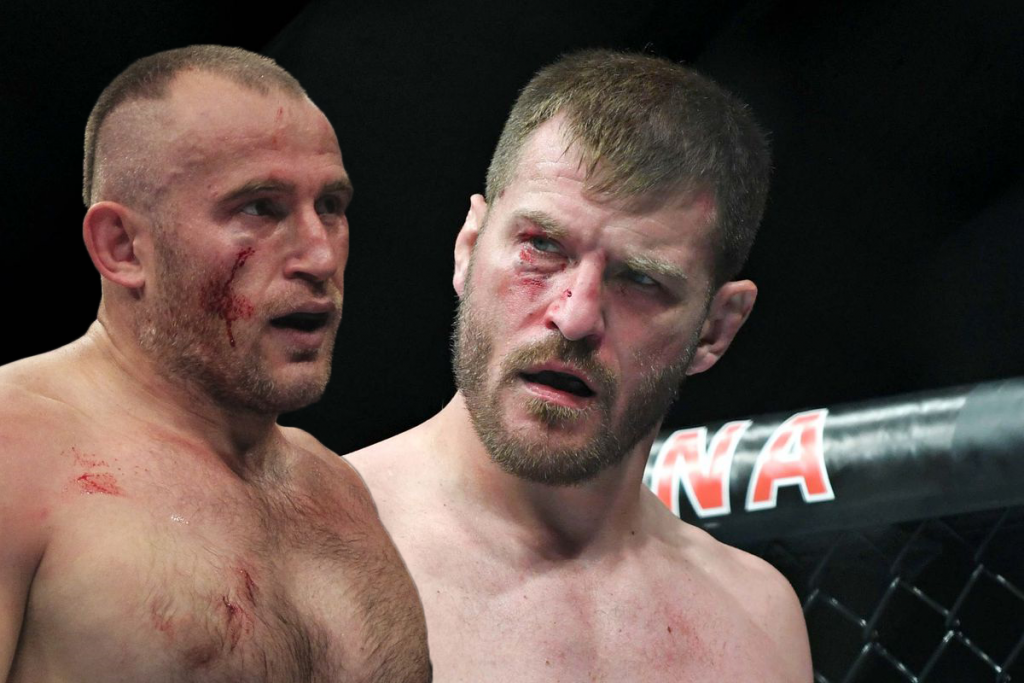 Alexey Oleynik calls for Stipe Miocic as next fight
