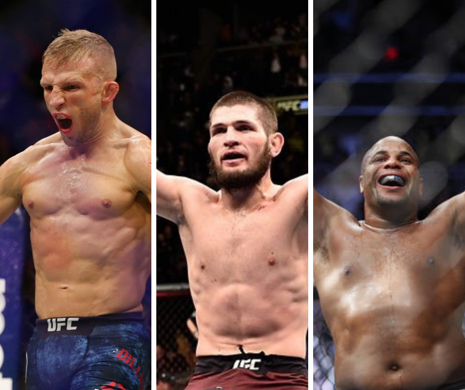 Top 3 Pound for Pound - UFC's current best