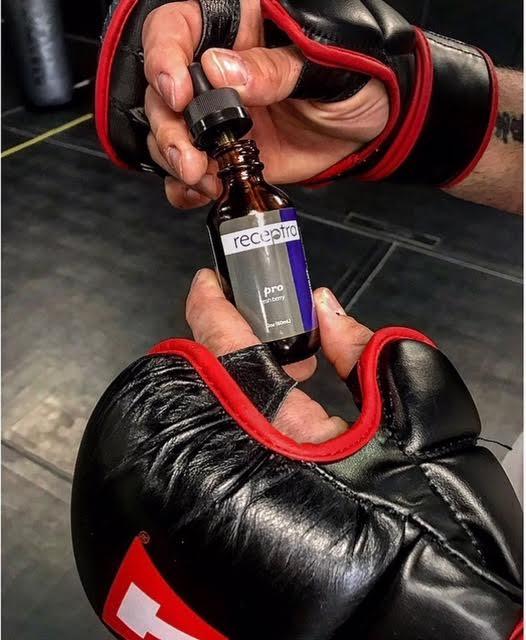 CBD oil for MMA
