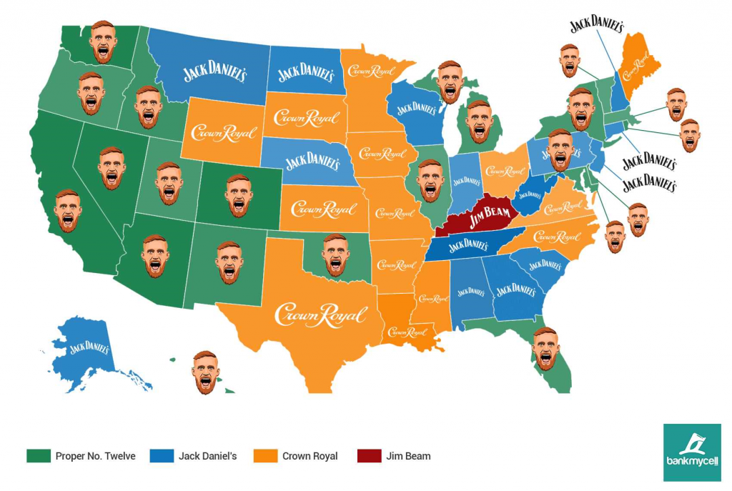 Conor McGregor's Proper 12: Which Countries & States Has It Taken Over?