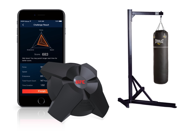 UFC Force Tracker, Smart Device for Heavy Bags