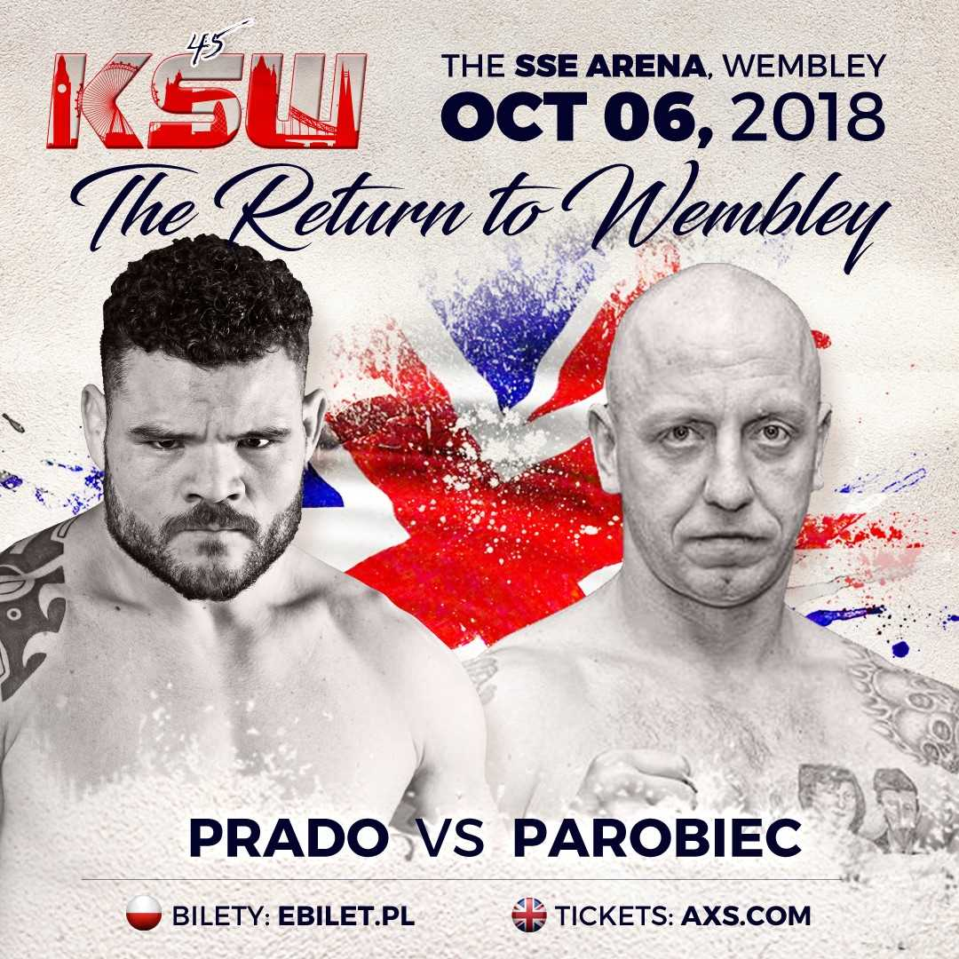 Lukasz Parobiec Now Faces Wagner Prado