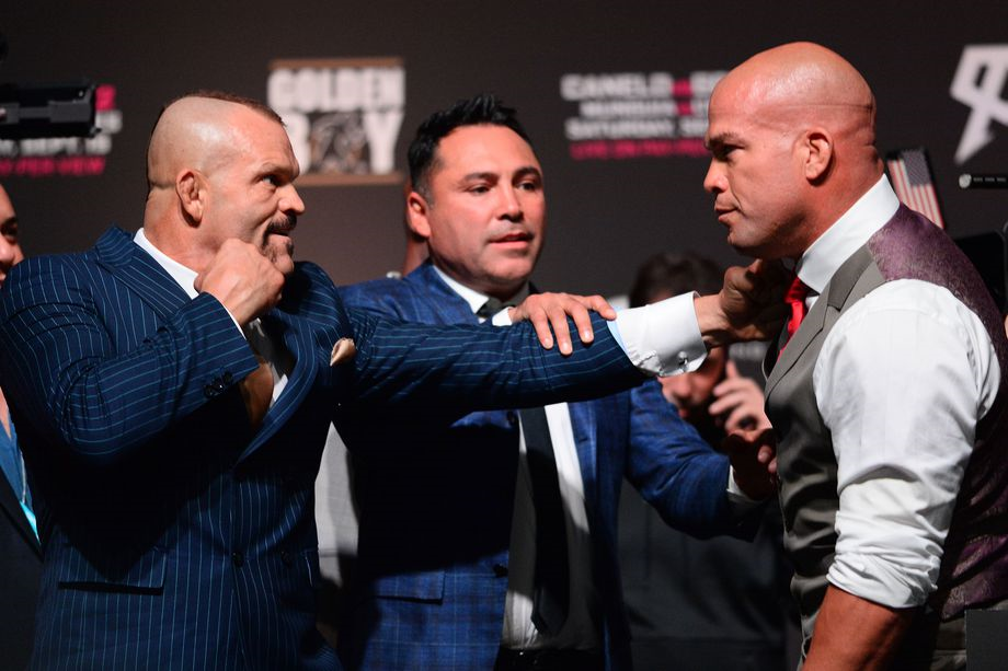 Chuck Liddell vs Tito Ortiz 3 fight card revealed