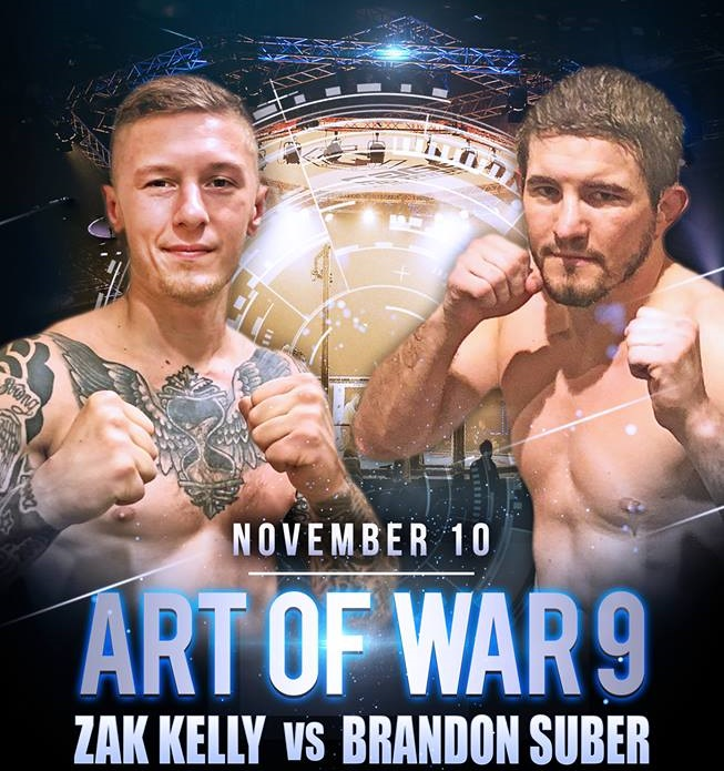 Art Of War 9 Results - Live from the Spooky Nook - Kelly vs Suber