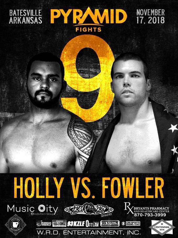Pyramid Fights 9, Derek Holly
