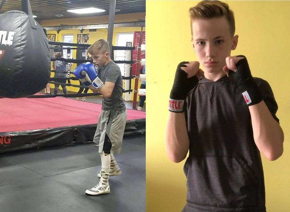 13-year-old Conner Shea dreams of being a pro boxer, gets his start at Holiday Brawl 2