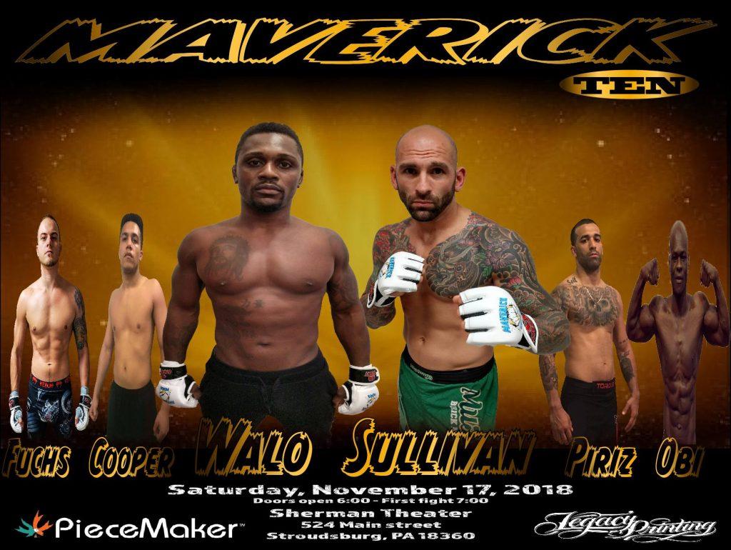 Maverick 10 Results - George Sullivan vs. Manny Walo