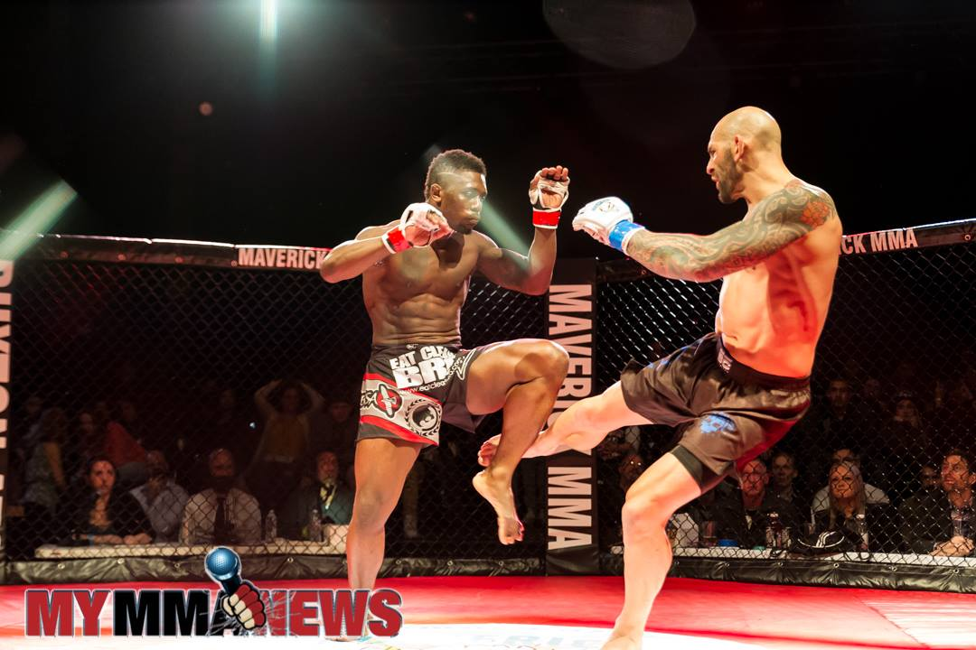 George Sullivan vs Manny Walo - Maverick 10 - Photo by William McKee