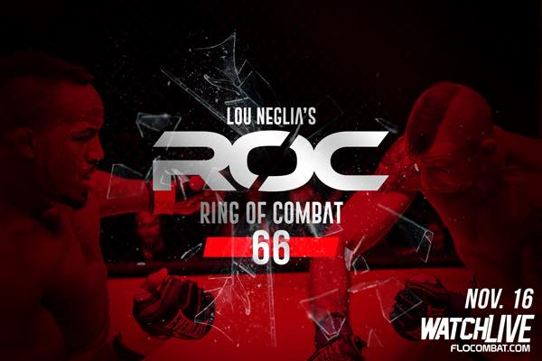 Ring of Combat 66 Results from Atlantic City, New Jersey