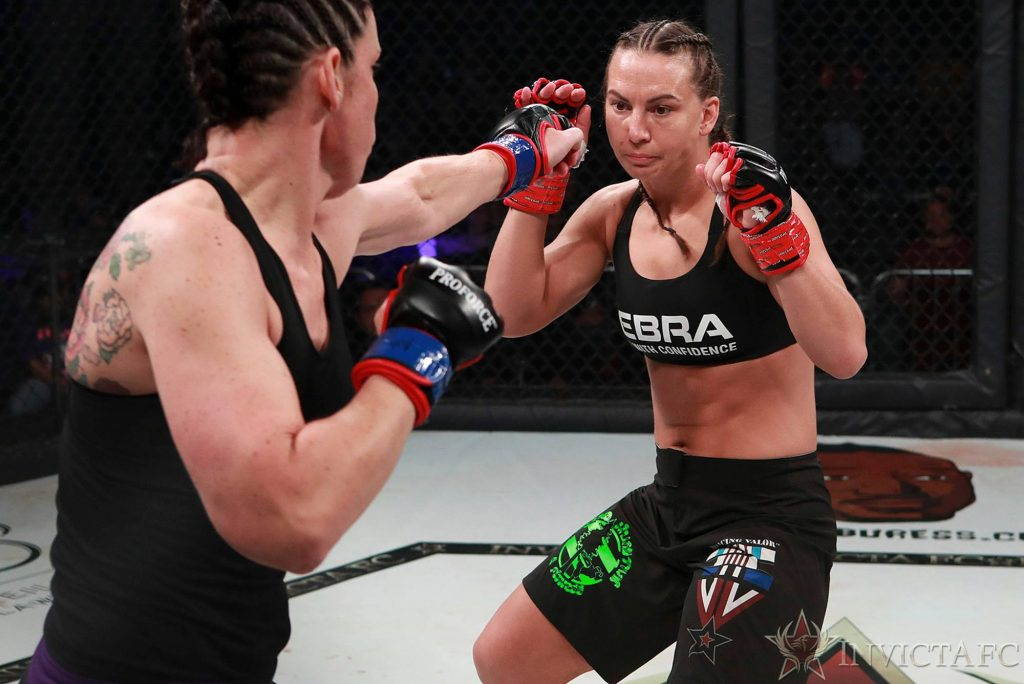 Kaitlin Young, Invicta FC 32, Photo by Dave Mandel