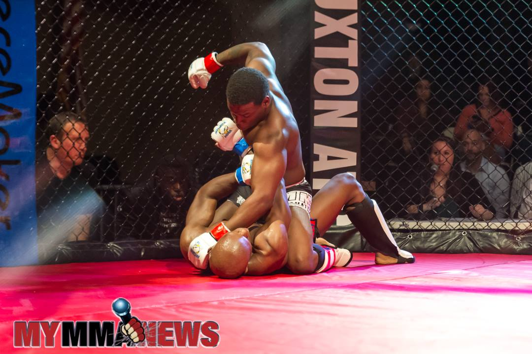 Justin Carter vs Kyree Jones - Maverick 10 - Photo by William McKee