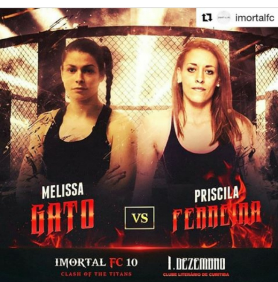 Melissa Gatto, Imortal FC 10
