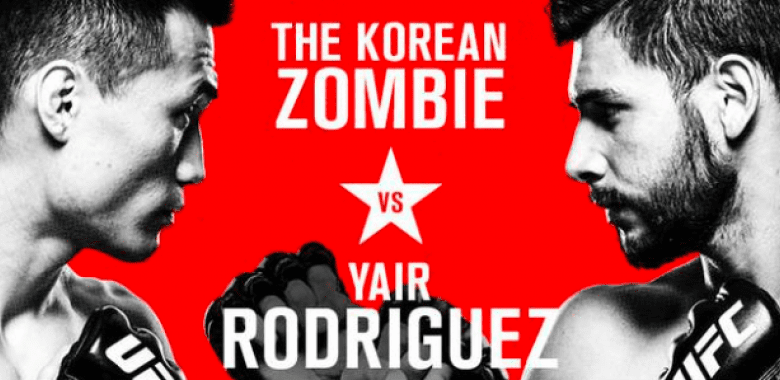UFC Fight Night 139 results - Korean Zombie vs. Yair Rodriguez