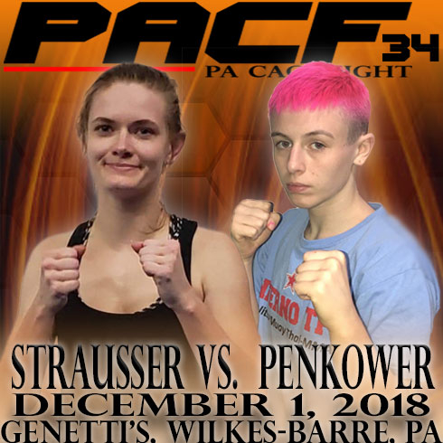 Lauren Strausser, PA Cage Fight 34