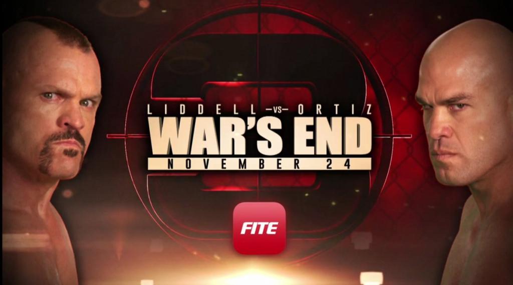 Chuck Liddell vs Tito Ortiz 3 - War's End Results