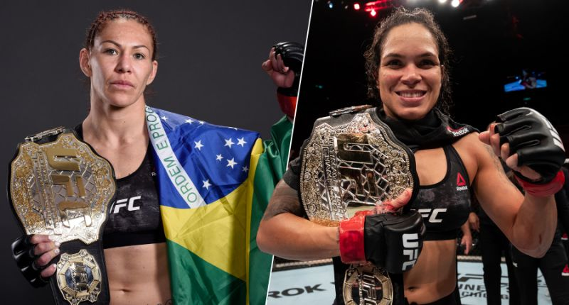 "Cris Cyborg on her game plan for Amanda Nunes: ""I'm the pressure"""