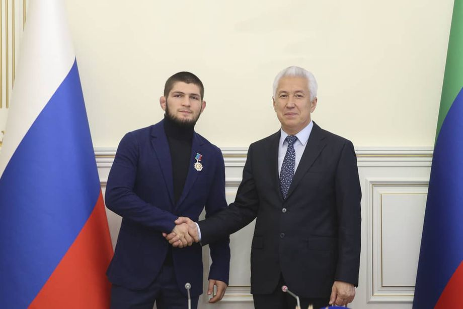 Khabib Nurmagomedov offered role as assistant to the Head of Dagestan