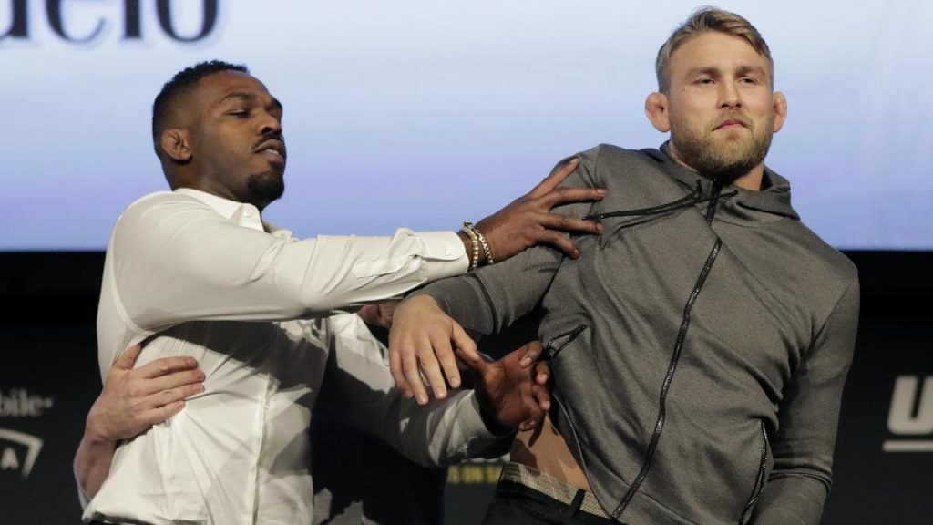 "Alexander Gustafsson on Jon Jones post-presser shove: ""I wasn't impressed by his power at all"""