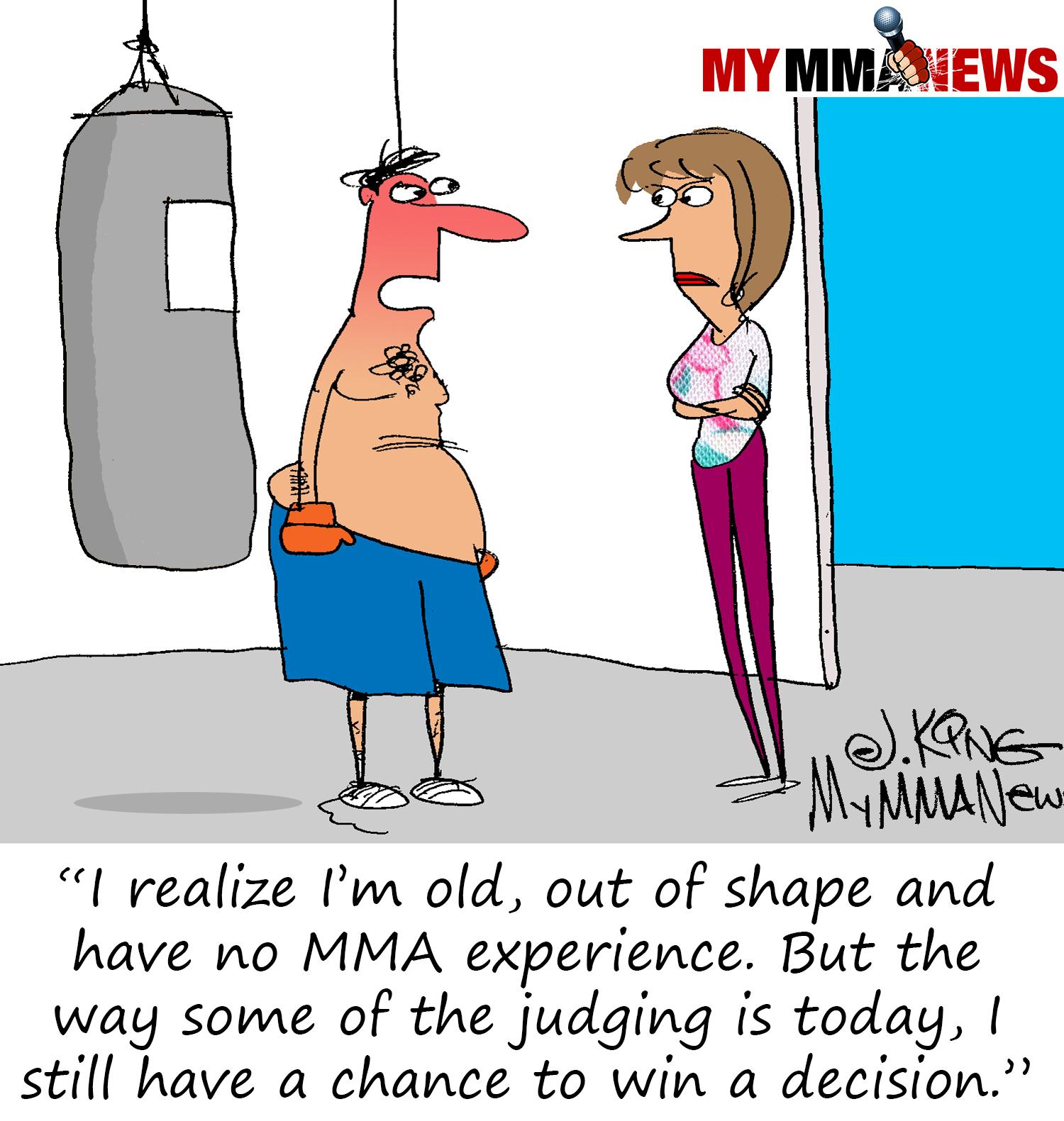 judging, mma judging