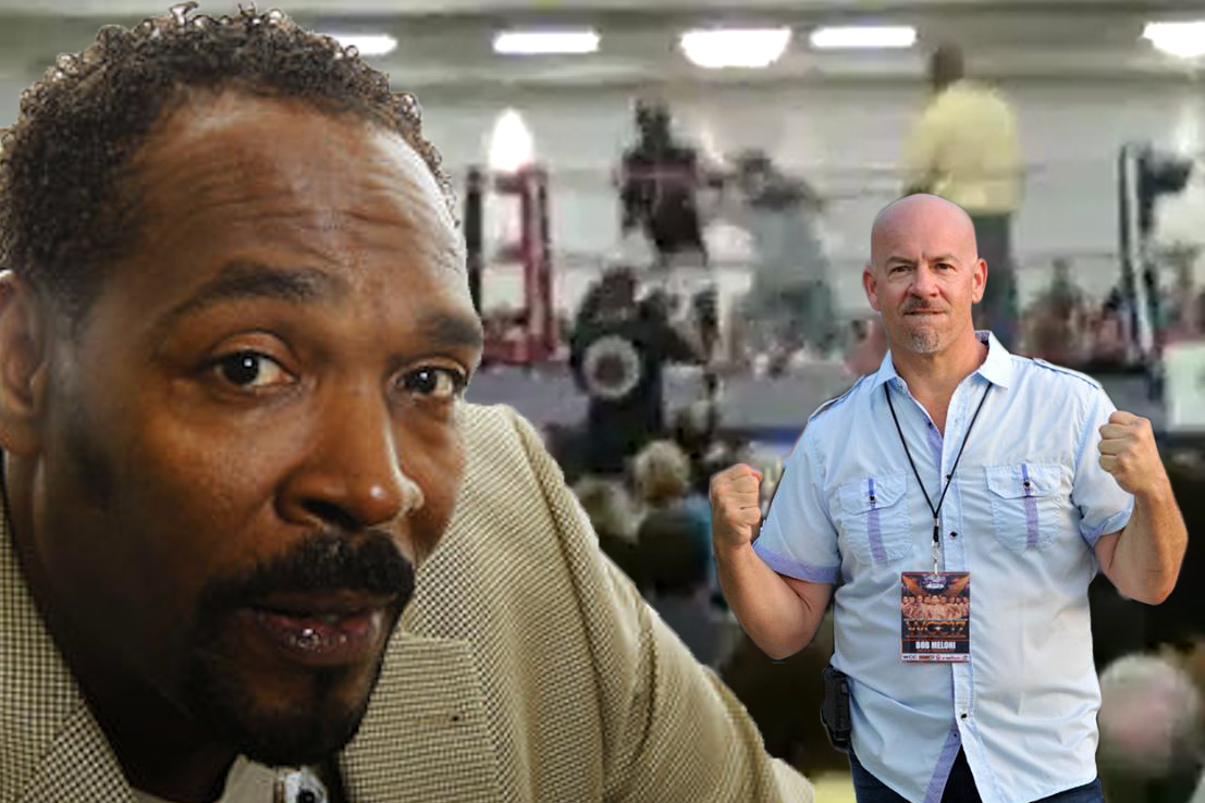 Rodney King battles MyMMANews reporter Bob Meloni in Celebrity Boxing bout