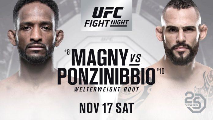 UFC Fight Night 140 results - Neil Magny vs. Santiago Ponzinibbio