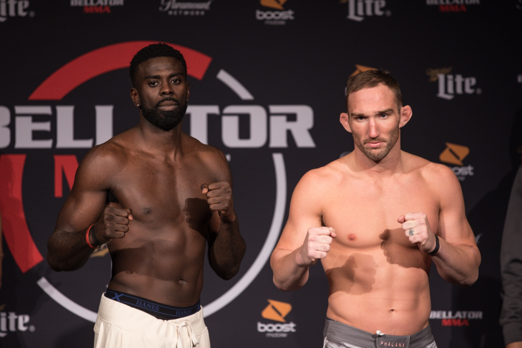 Bellator 210: Njokuani vs. Salter Weigh-In Results