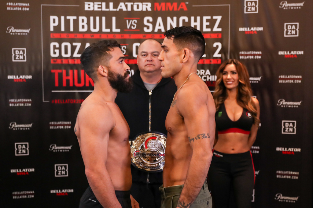 Bellator 209: Pitbull vs. Sanchez Weigh-In Results