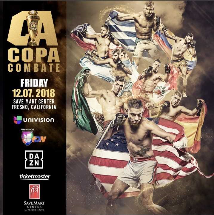 'Copa' Tournament Alternate Bouts, Women's Fight Announced