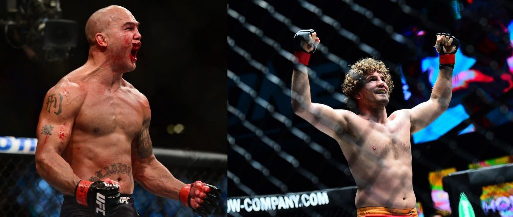 Ben Askren vs Robbie Lawler targeted for UFC 233 in January 2019