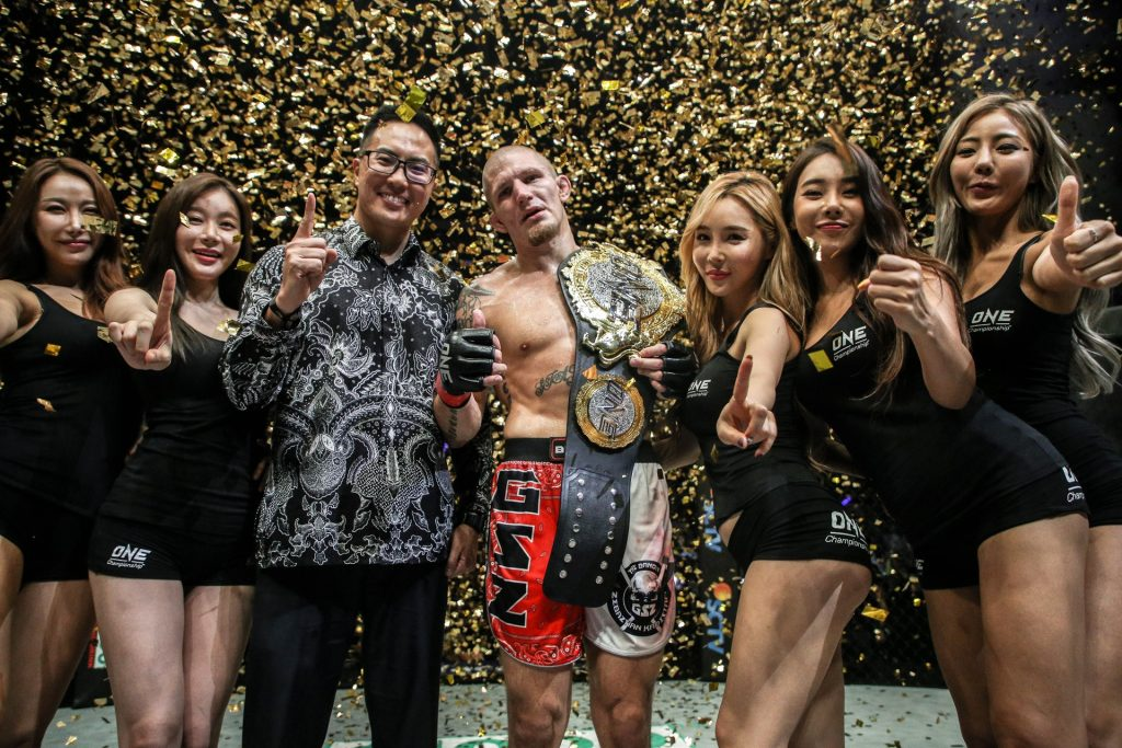 Zebaztian Kadestam captures ONE welterweight title with KO of Tyler McGuire