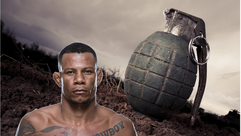 Alex Oliveira injured by grenade fragments on Christmas Eve