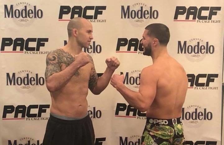 PA Cage Fight 34 results - Jimmy Jordan vs. Rick Nuno