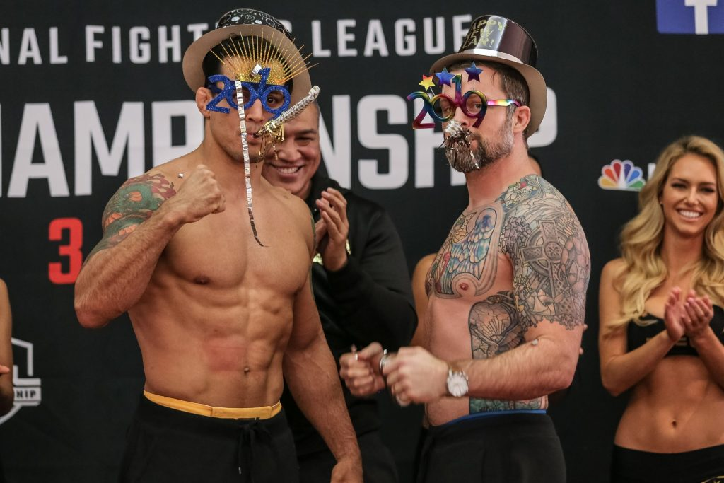 PFL Championship Weigh-in Results - Six Titles On The Line