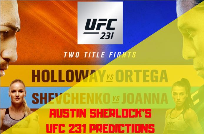 UFC 231 Predictions