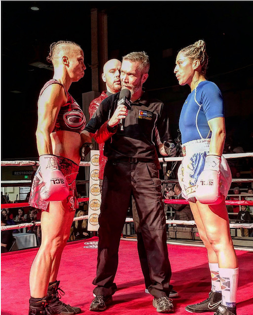 Shannon Sinn vs Salina Valdez in Boxing to start the tournament