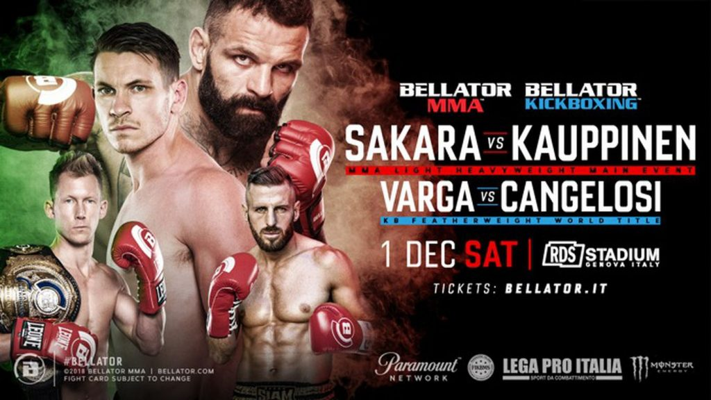 Bellator 211 results - Alessio Sakara vs. Kent Kauppinen