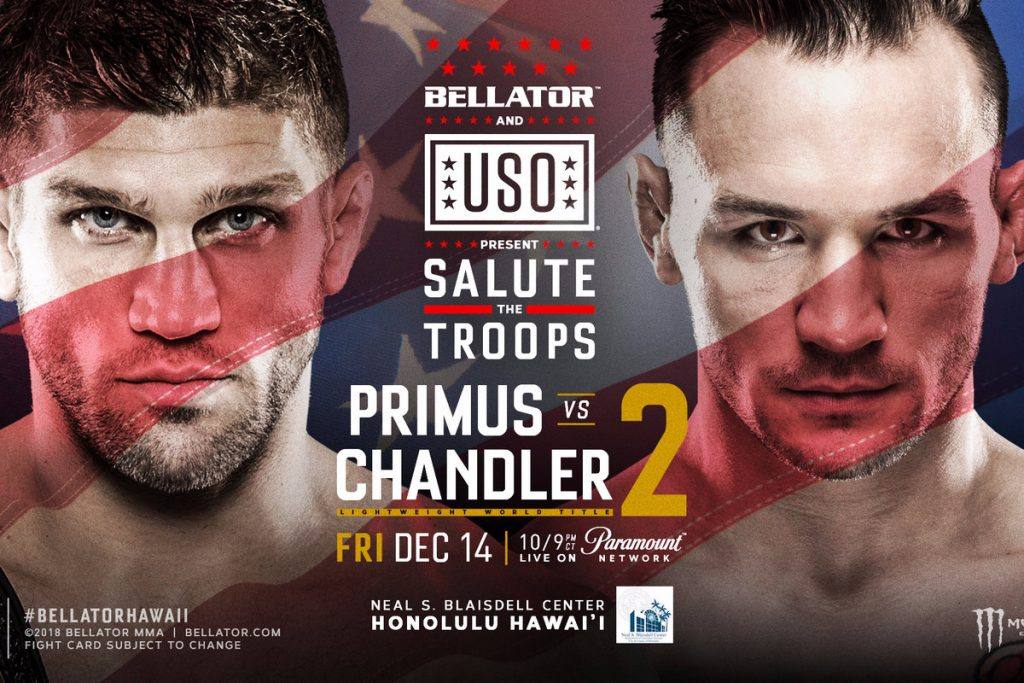 Bellator 212 results - Primus vs. Chandler 2 from Hawaii