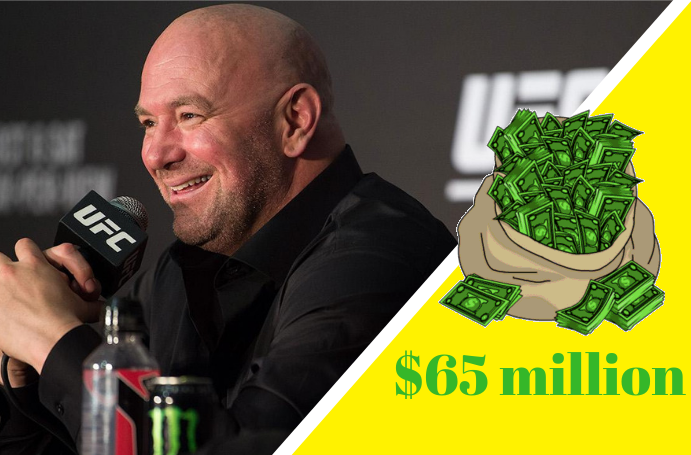 UFC's new pay-per-view deal could bring in $65 million a year