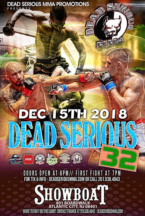 Dead Serious MMA 32